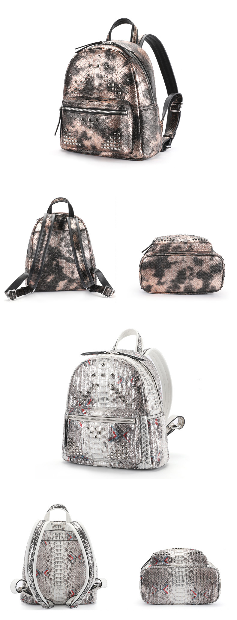 laether backpacks