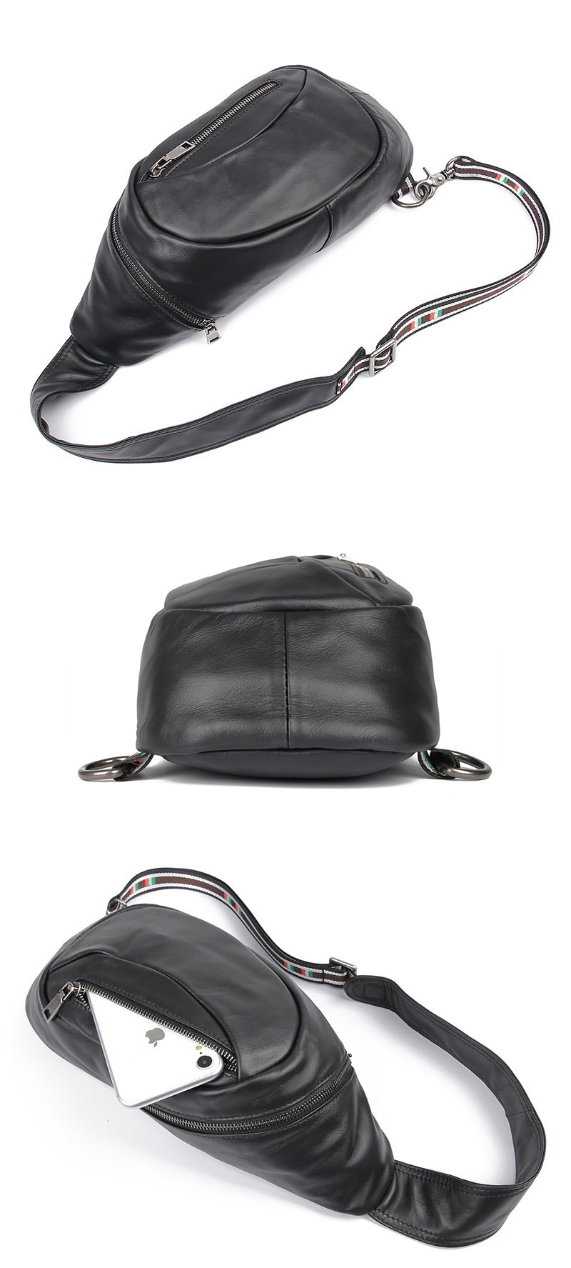 leather sport bag