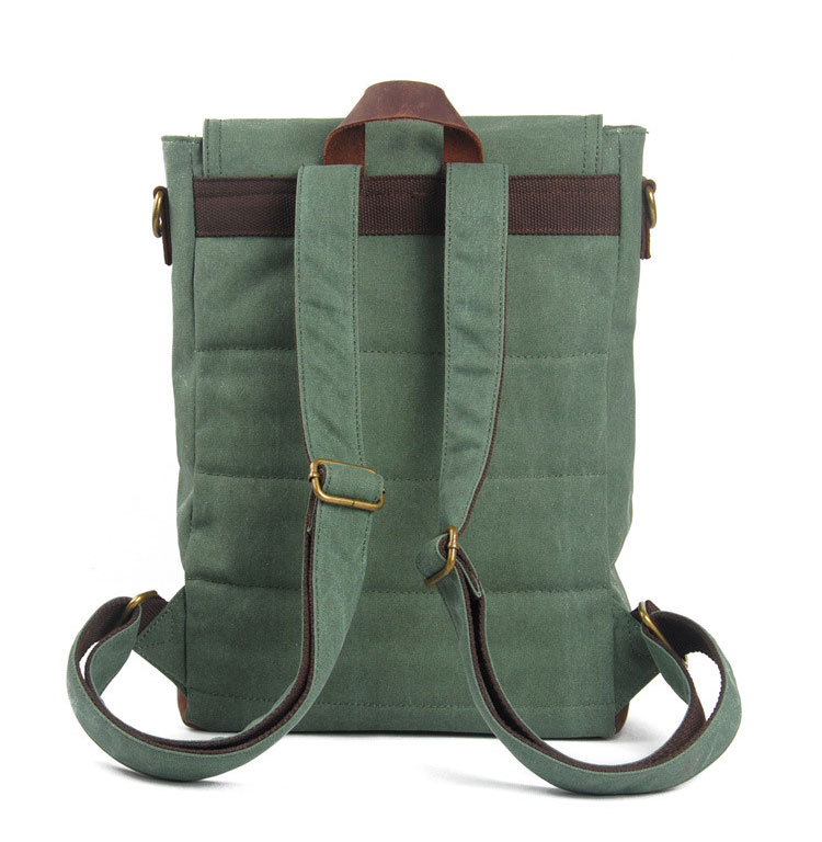 High end cheap price wholesale Custom Canvas Backpack