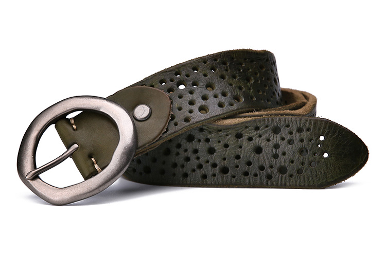 Cheap price fashion designer leather belts for men