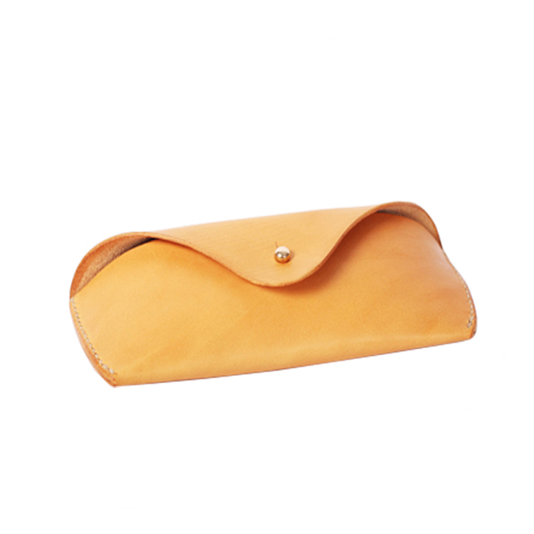 China factory hot selling business gift genuine leather carrying case for sunglasses