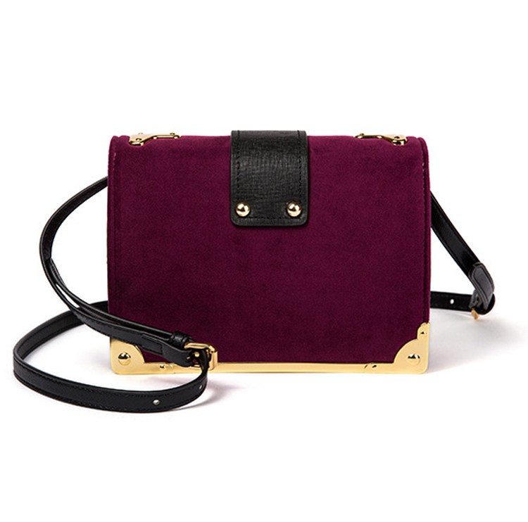 2018 newest fashion design mini size real leather handbags for ladies