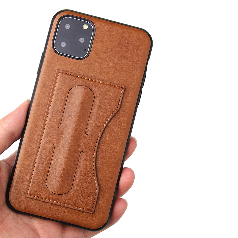 New design factory price real leather mobile phone cases leather iphone11 cases