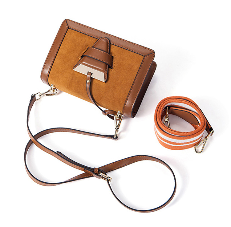 2018 branded design good quality mini size genuine leather borsetta shoulder bag for lady
