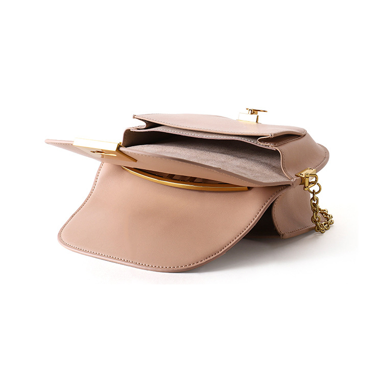 New design high quality genuine leather women purse real leather lady handbags
