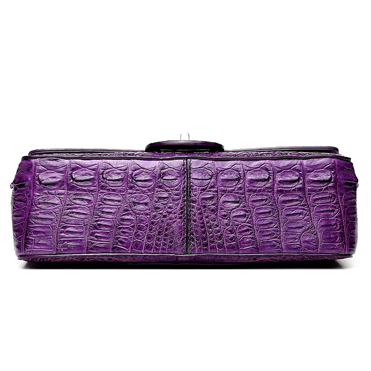Brand design top quality real alligator skin leather women purse with CITES certificate