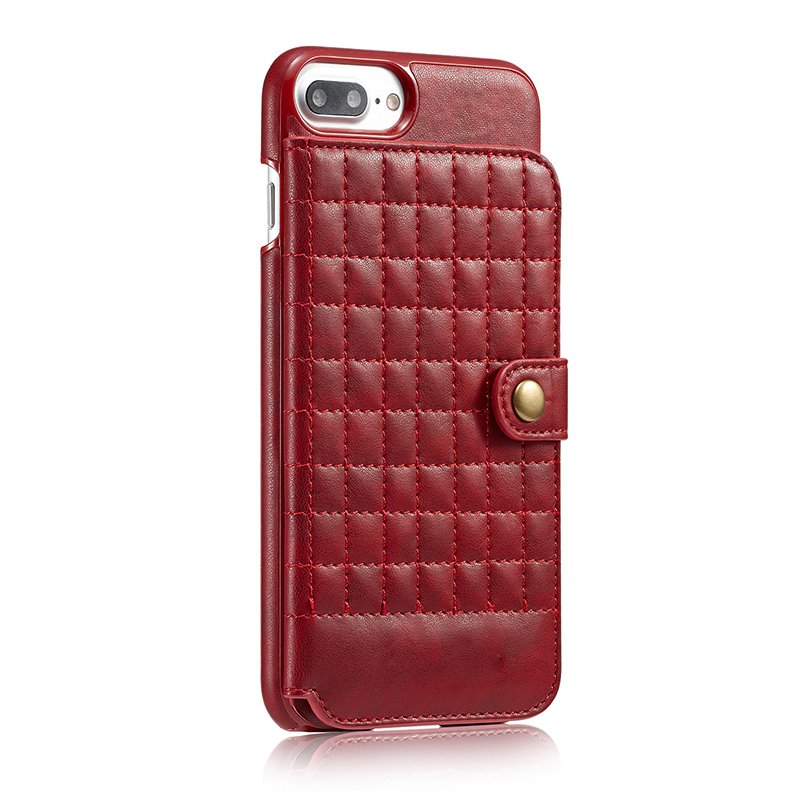 Hot selling good quality genuine leather iphone cover leather iphone8 case with cards holder