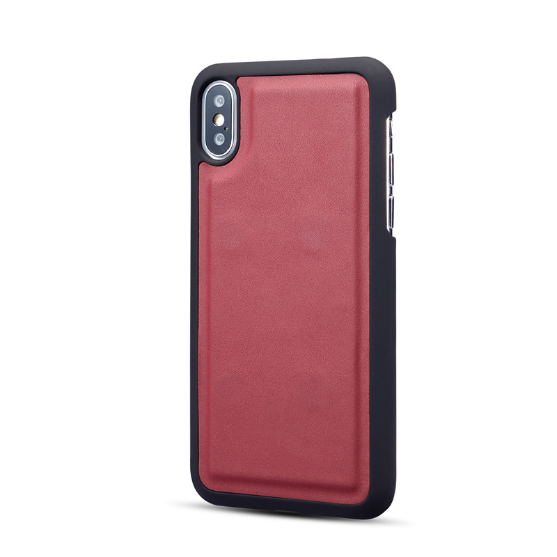 OEM ODM design good quality PU leather flip iphonex cover artificial leather mobile phone cases