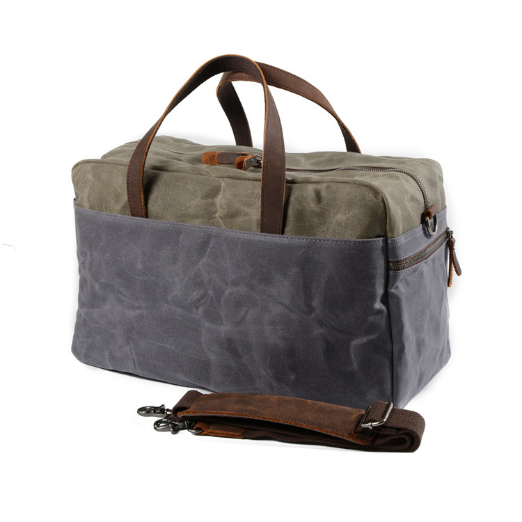 Factory cheap price good quality travel bag waterproof canvas sport bag gym bag