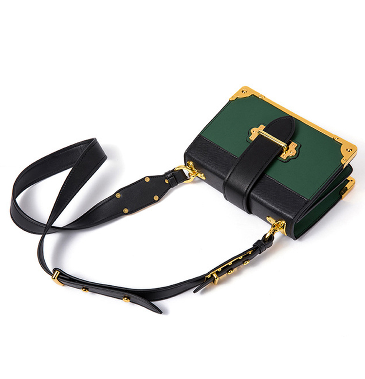 Wholesale price customized order mini size lady shoulder bag cow leather crossbody bag