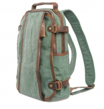 Latest design trendy foldable thick canvas rucksacks for teen