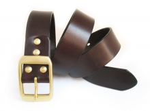 China factory wholesale genuine leather belt blanks for men