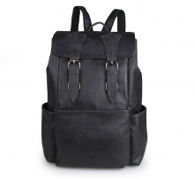 Good quality factory price real leather school backpack bag for girls