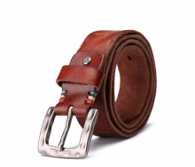 Wholesale price popular design real leather designer waist belts for men