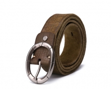 Oem fashion style mens genuine leather designer belts