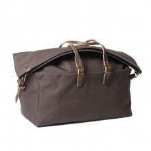 Cheap price good quality brown canvas weekender travel bag