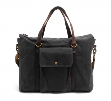 China factory wholesale cheap price canvas tote bag with shoulder strap for men