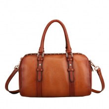 Fashion designer lady genuine leather handbag tote bag italy