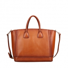 Famous brand top quality trend genuine leather handbag china manufacturer