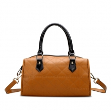 Latest design trendy genuine cow leather hand bag for lady manufacturer