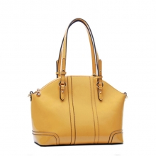 New arrival sales promotion fashion branded waterproof leather zipper bag for women