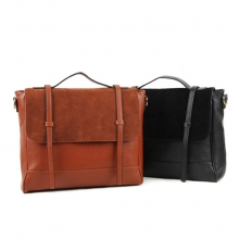 Fashion design big size genuine leather lady leather hand bag shoulder bag