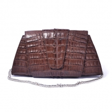 Designer luxury real aligator skin women sling shoulder bag for party
