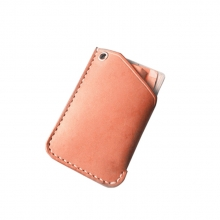 Good quality cheap price wholesale real leather place id card credit card holder