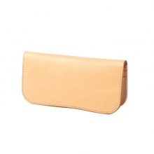 Customized design hand made genuine leather ladies hand clutch purse