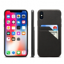 New arrival high quality full grain leather mobile phone case genuine leather iphone X case