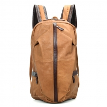 Ebay hot selling good quality low price real leather designer bag laptop backpack for men