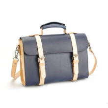 Newest designer handmade leather messenger laptop bags for men