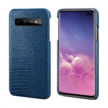 OEM design good quality lizard print leather mobile phone housing phone case for Samsung S10 Plus