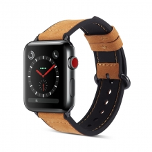 2019 newest design good quality genuine leather watch bands real leather watch straps for men