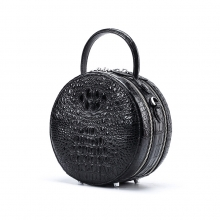 New arrivel fashion design crocodile skin leather mini women purse genuine leather ladies handbags