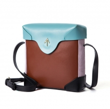 2018 Hot sale fashion design shoulder bag genuine leather crossbody bag for girls