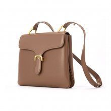 New arrivel low price good quality split leather women purse genuine leather ladies handbag