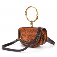 Factory price hot selling good quality new design genuine leather women handbag leather purse