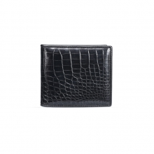 Hot selling luxury design genuine crocodile leather rfid cards wallet leather wallets for men