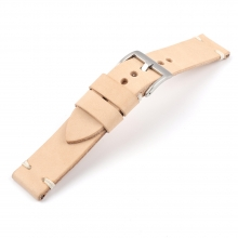 20mm Good quality vegetable tanned leather watch straps apple watch bands
